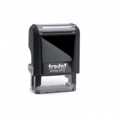 Αυτομελανούμενη σφραγίδα TRODAT 4910, Σφραγίδα 1-2 σειρών. - Διάσταση αποτυπώματος 26 Χ 9 mm.