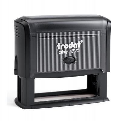 Αυτομελανούμενη σφραγίδα TRODAT 4925, Σφραγίδα 6-8 σειρών. - Διάσταση αποτυπώματος 82 Χ 25 mm.