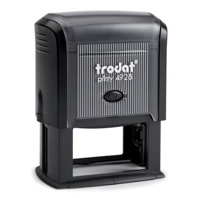 Αυτομελανούμενη σφραγίδα TRODAT 4928, Σφραγίδα 8-9 σειρών. - Διάσταση αποτυπώματος 60 Χ 33 mm.