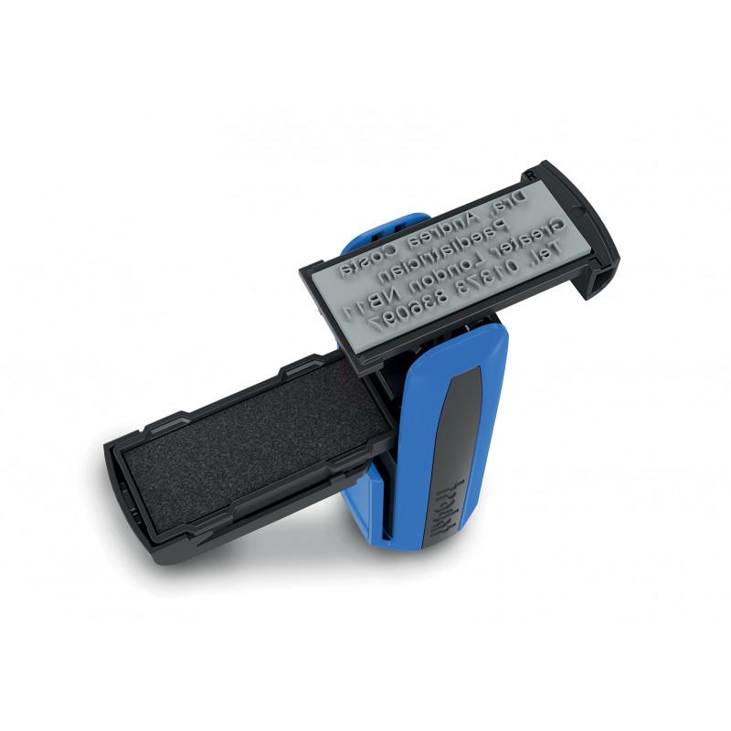 Σφραγίδα τσέπης 9512, Σφραγίδα 4-5 σειρών. Διάσταση αποτυπώματος 47 Χ 18 mm.