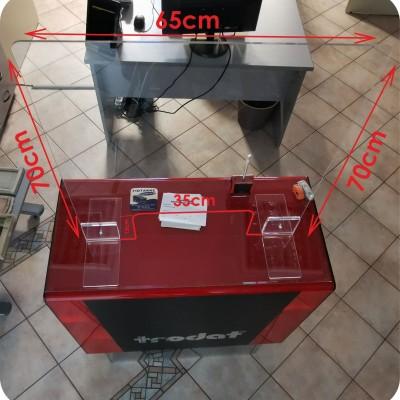 Plexiglass Προστατευτικό Κοινού. Διαστάσεις: Μήκος 65cm - Ύψος 70cm - Πάχος Υλικού 6mm ΑΜΕΣΗ ΠΑΡΑΔΟΣΗ