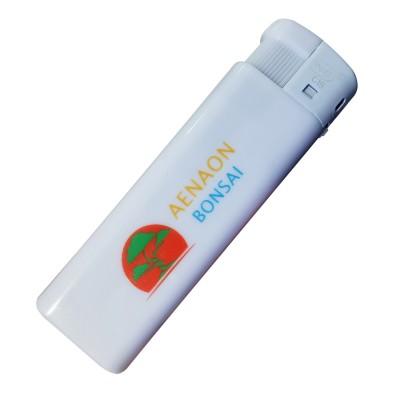 Διαφημιστικός ηλεκτρονικός αναπτήρας, με το λογότυπο και τα στοιχεία σας. Διαστάσεις 8,1cm X 2,7cm (εκτύπωση μιας όψης)